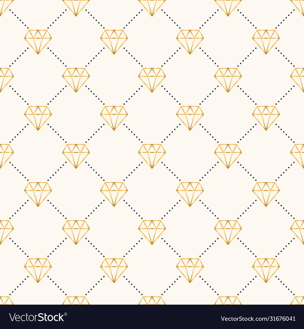 Seamless luxury geometric pattern