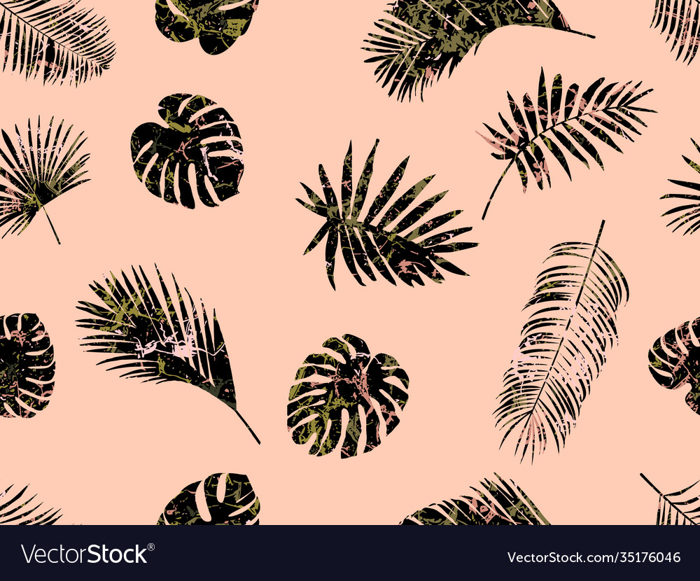 Seamless modern exotic pattern fashionable