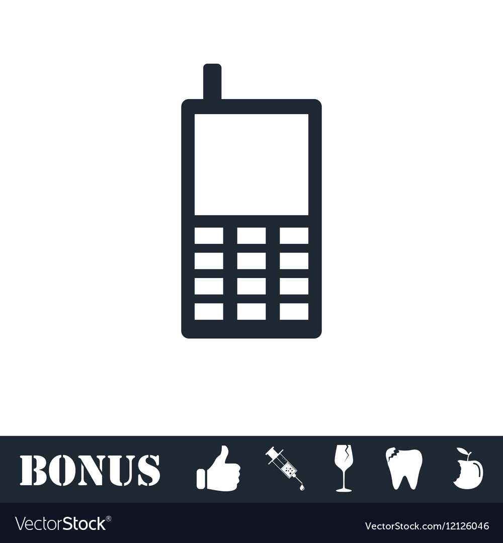 Smartphone icon flat
