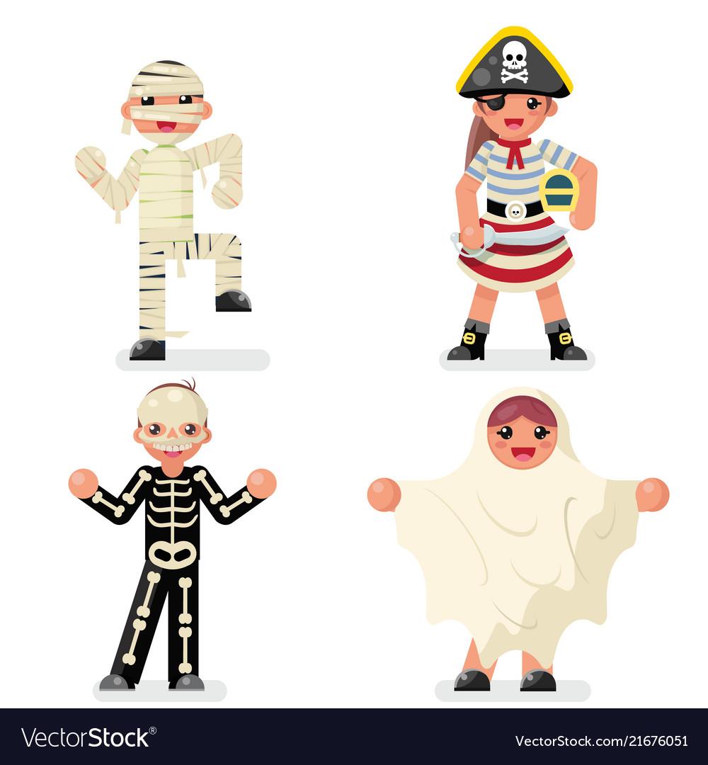 Kids costume halloween children masquerade party