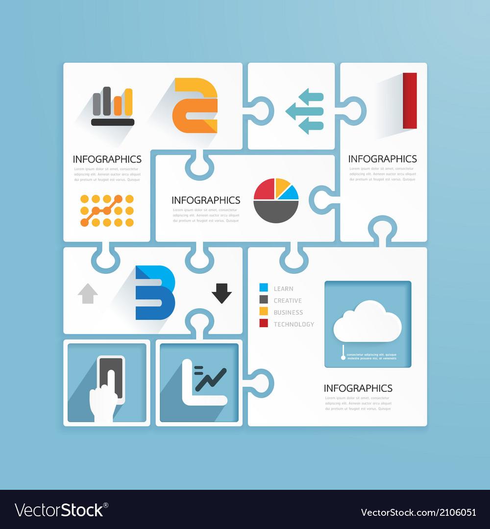 Modern Design Minimal style infographic paper