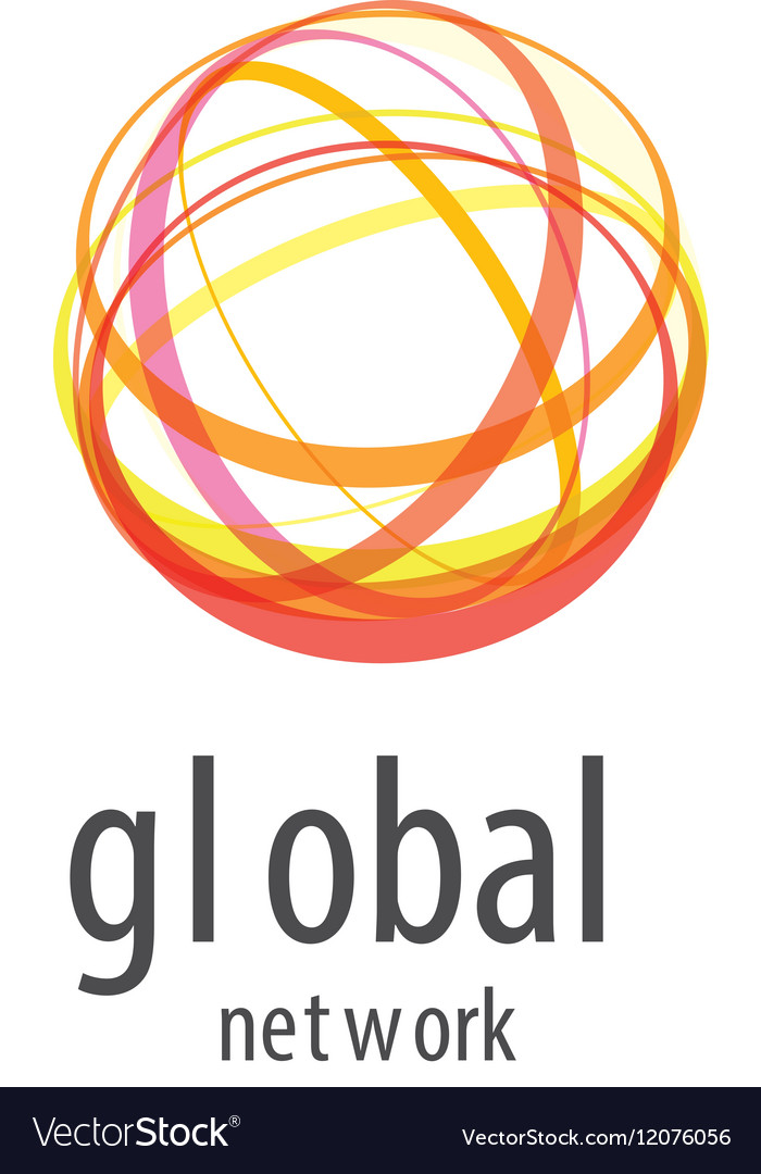Logo global network