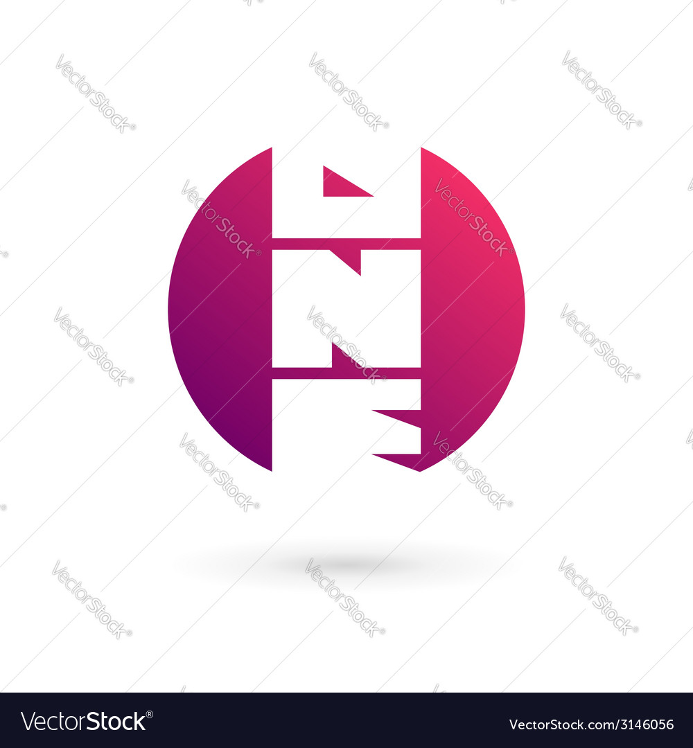 Number one 1 word logo icon design template