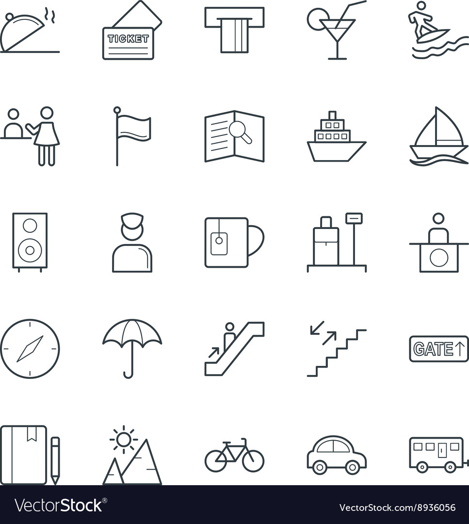 Travel Cool Icons 3