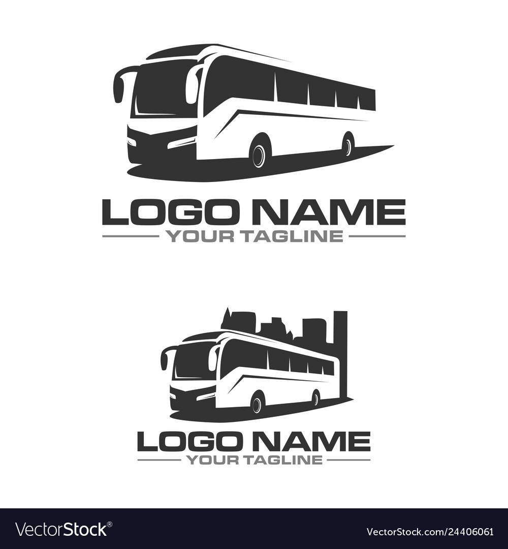 Bus city logo
