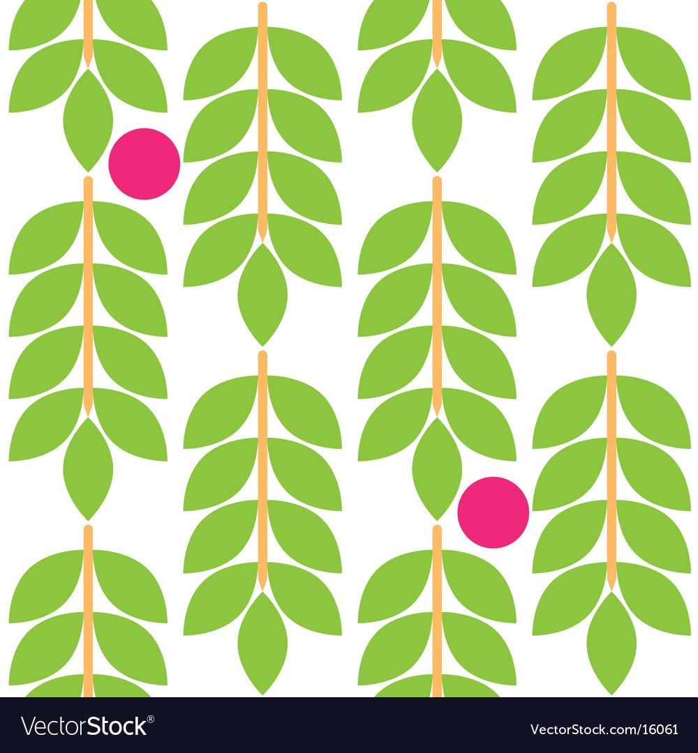 Floral fruit pattern