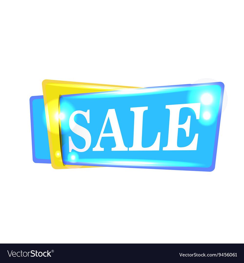 Sale banner design background Season discount