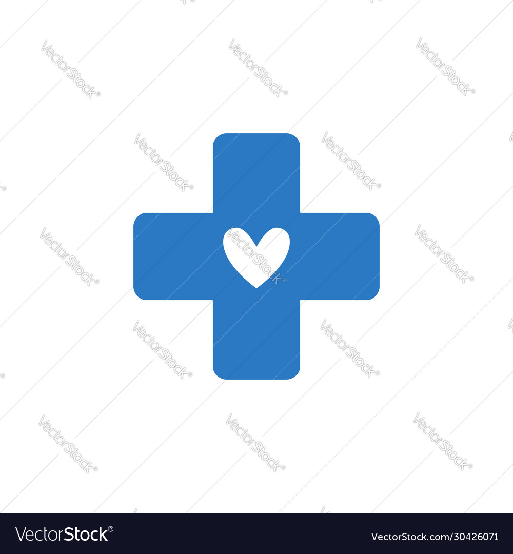 Medical cross related glyph icon