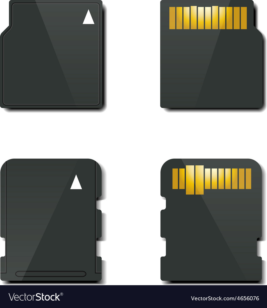 Set memory card