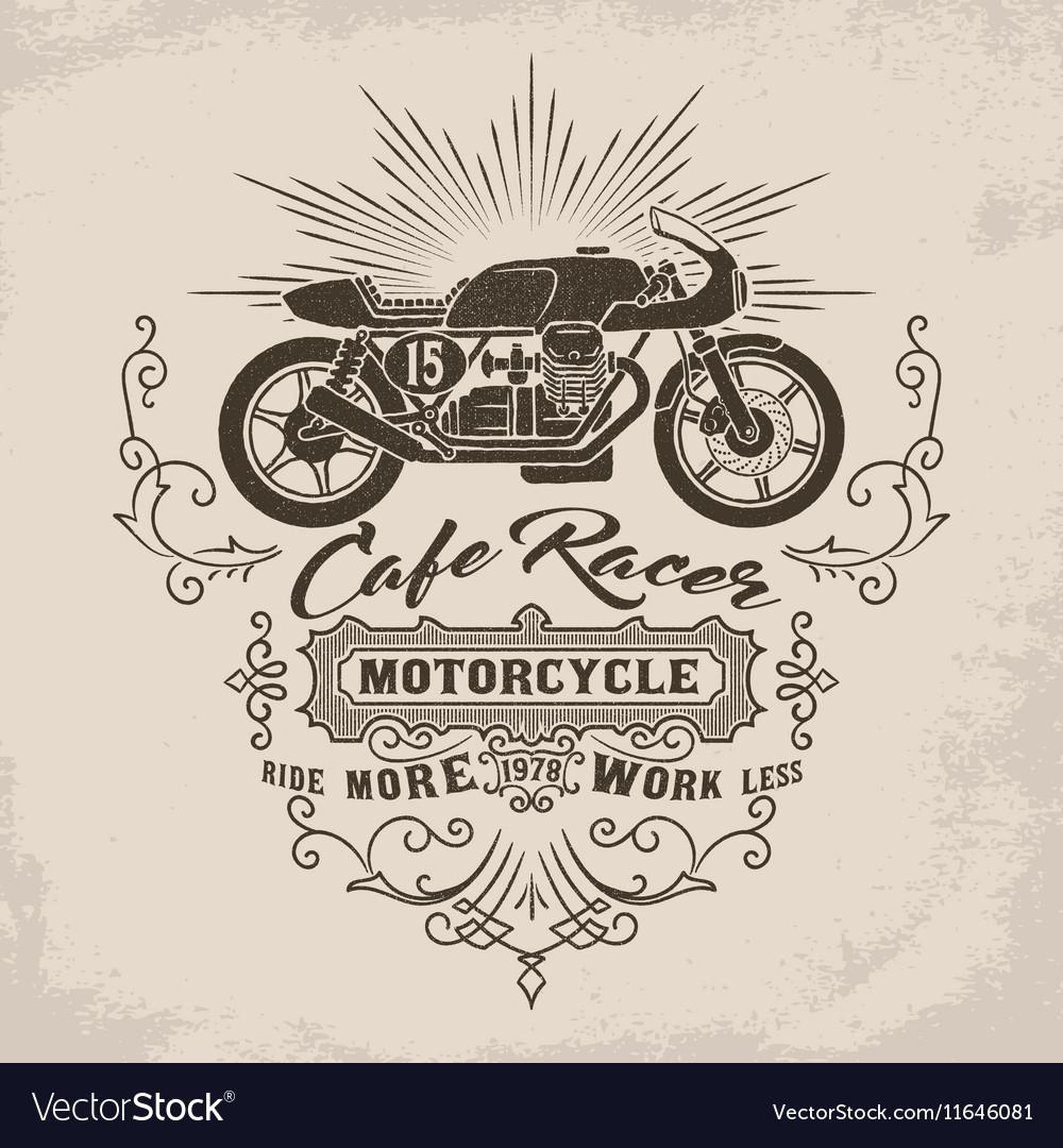 Custom motorcycle Vintage Design
