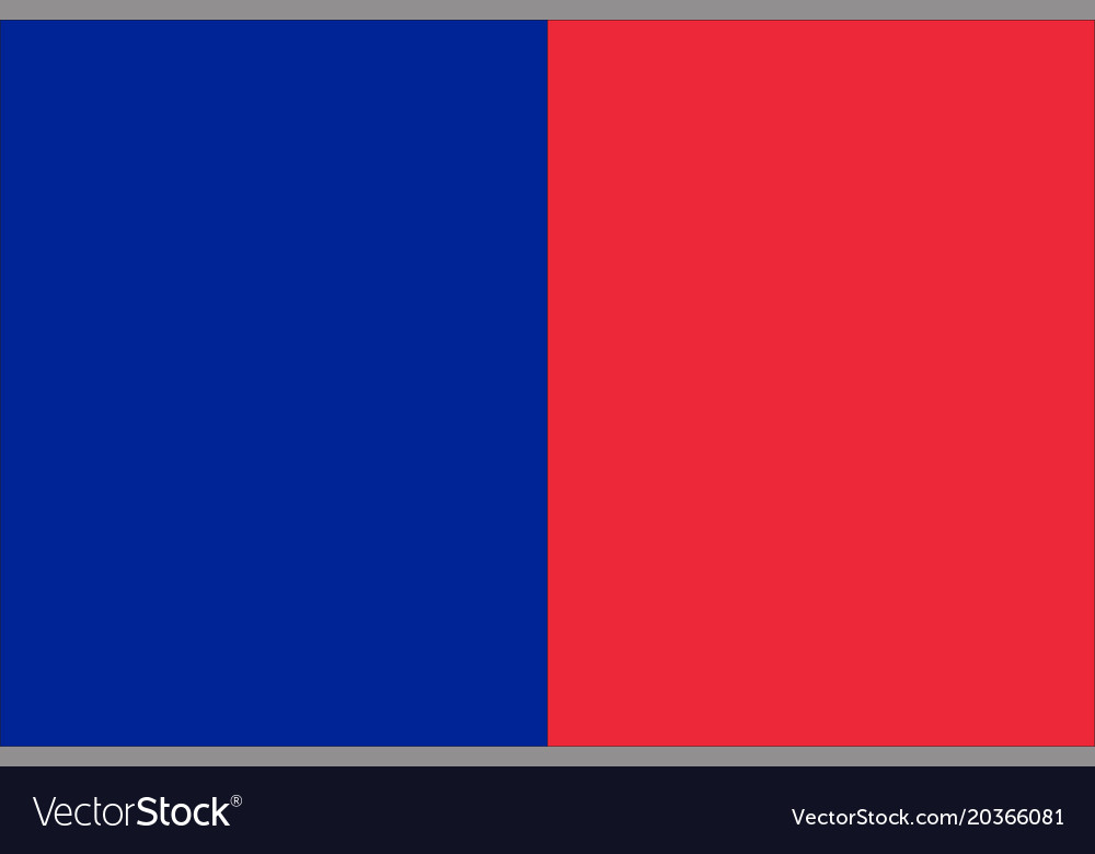 Flag of paris france Royalty Free Vector Image