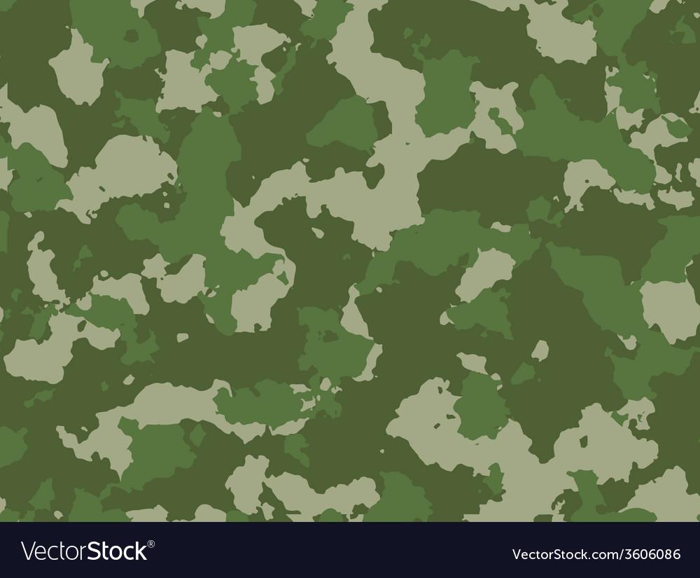 Seamless woodland camo pattern