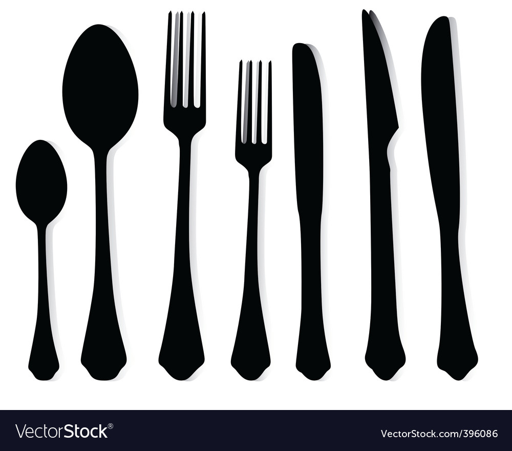 Ablespoons Of Forks And Knives