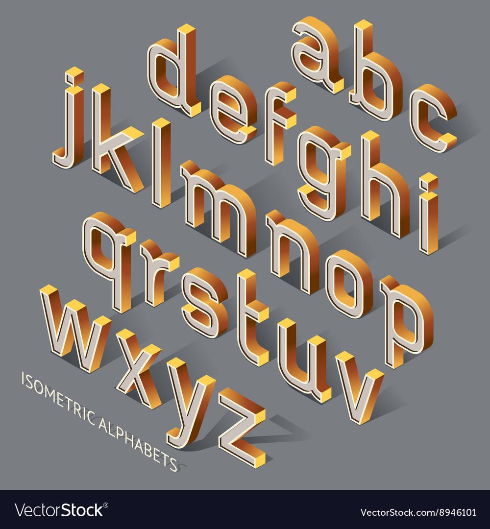 Isometric Alphabets