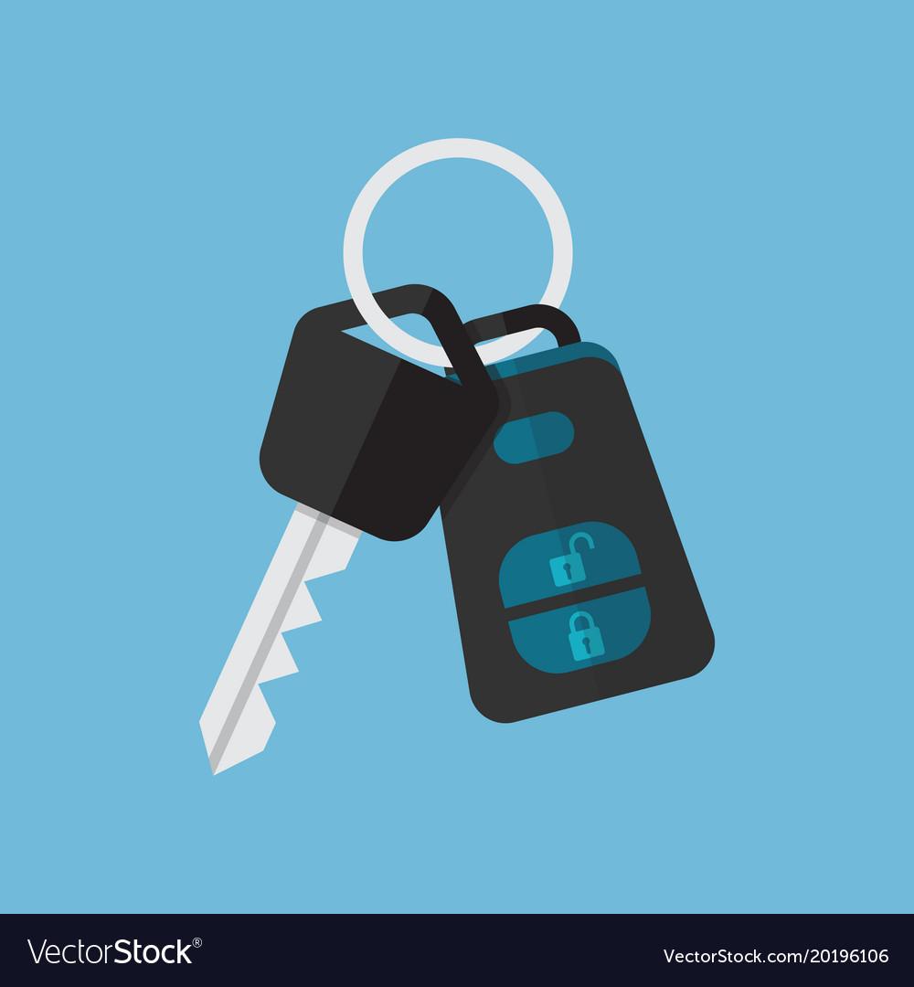 Car key and alarm system