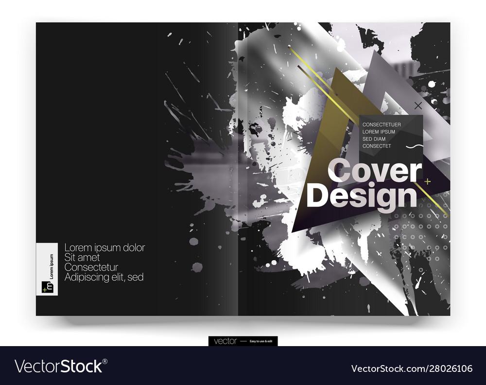 Cover design annual report template
