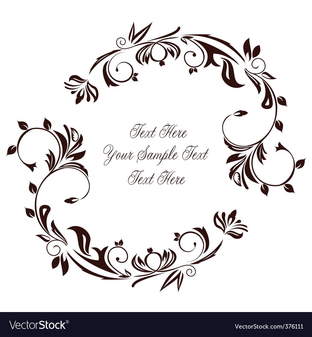 Decorative invitation royalty free vector image decorative invitation vector image stopboris Choice Image