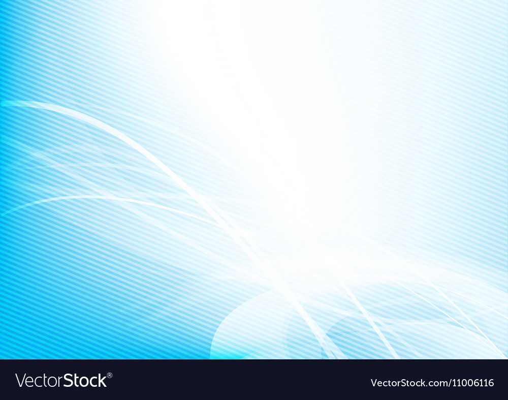 Abstract background blue wave curve and lighting