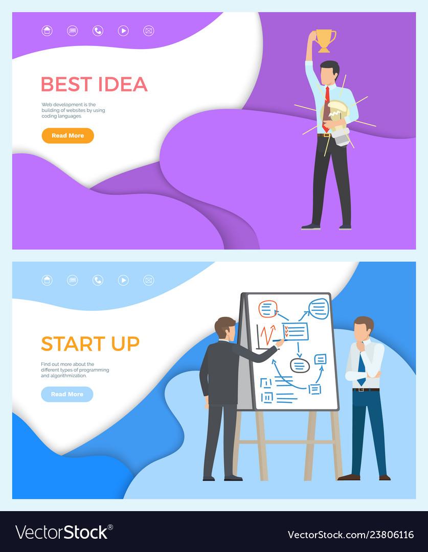 Best idea web page start up programming people