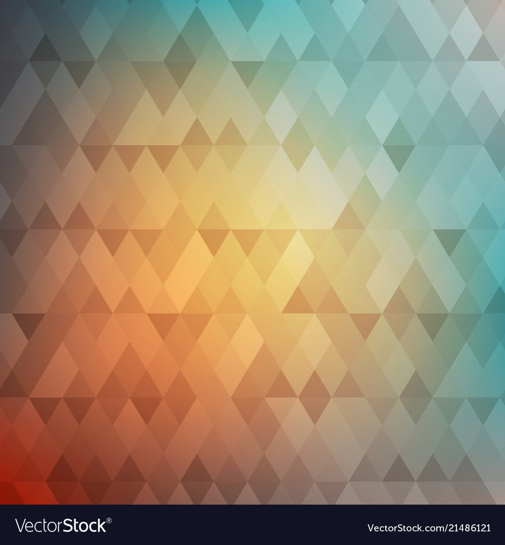 Abstract geometric background colorful mosaic
