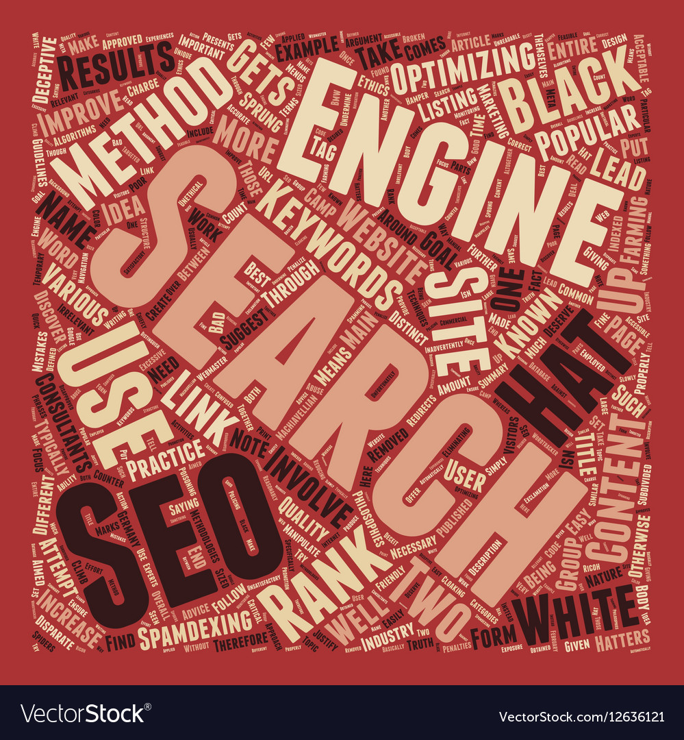 Black White The Philosophies of SEO text