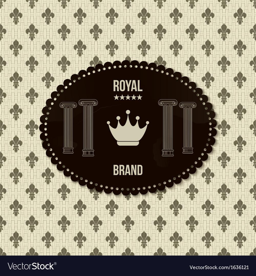 Royal crown background