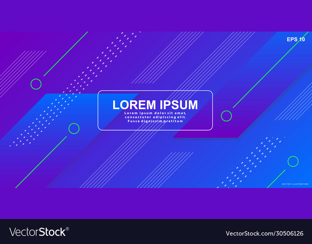 Abstract gradient geometric shapes background