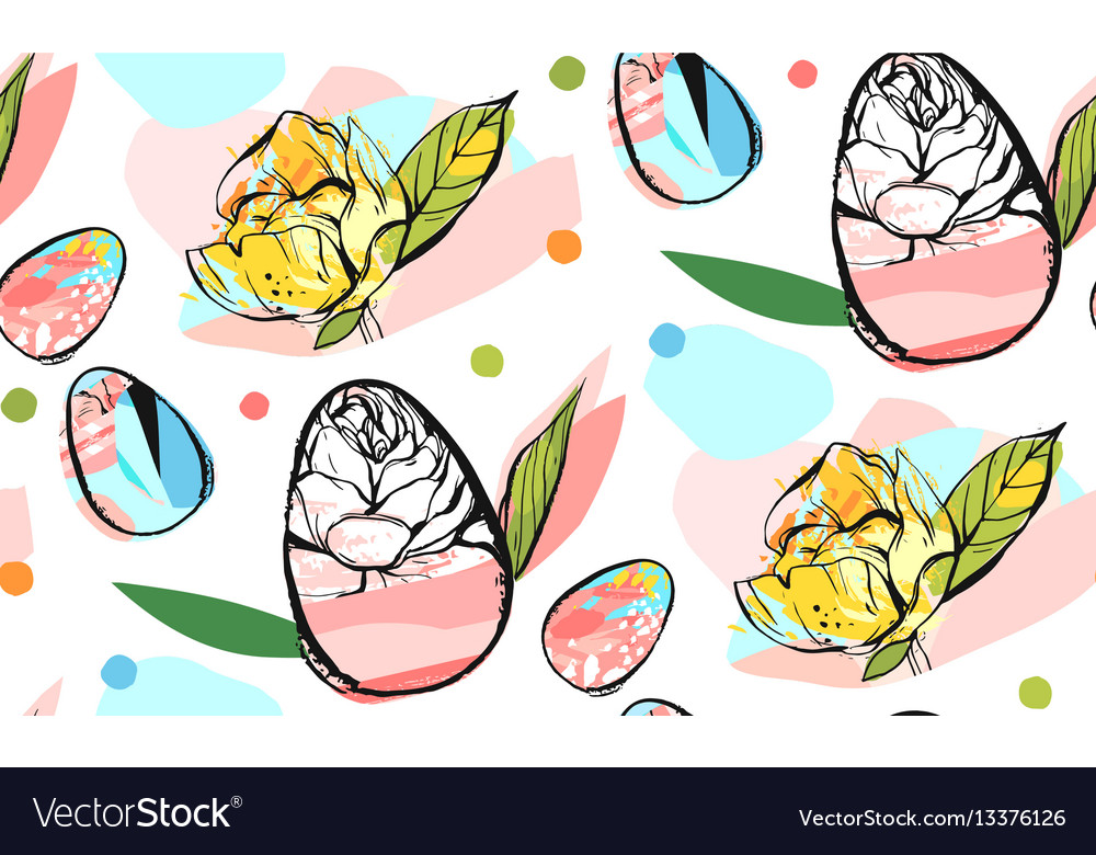 Hand drawn abstract creative universal vector image