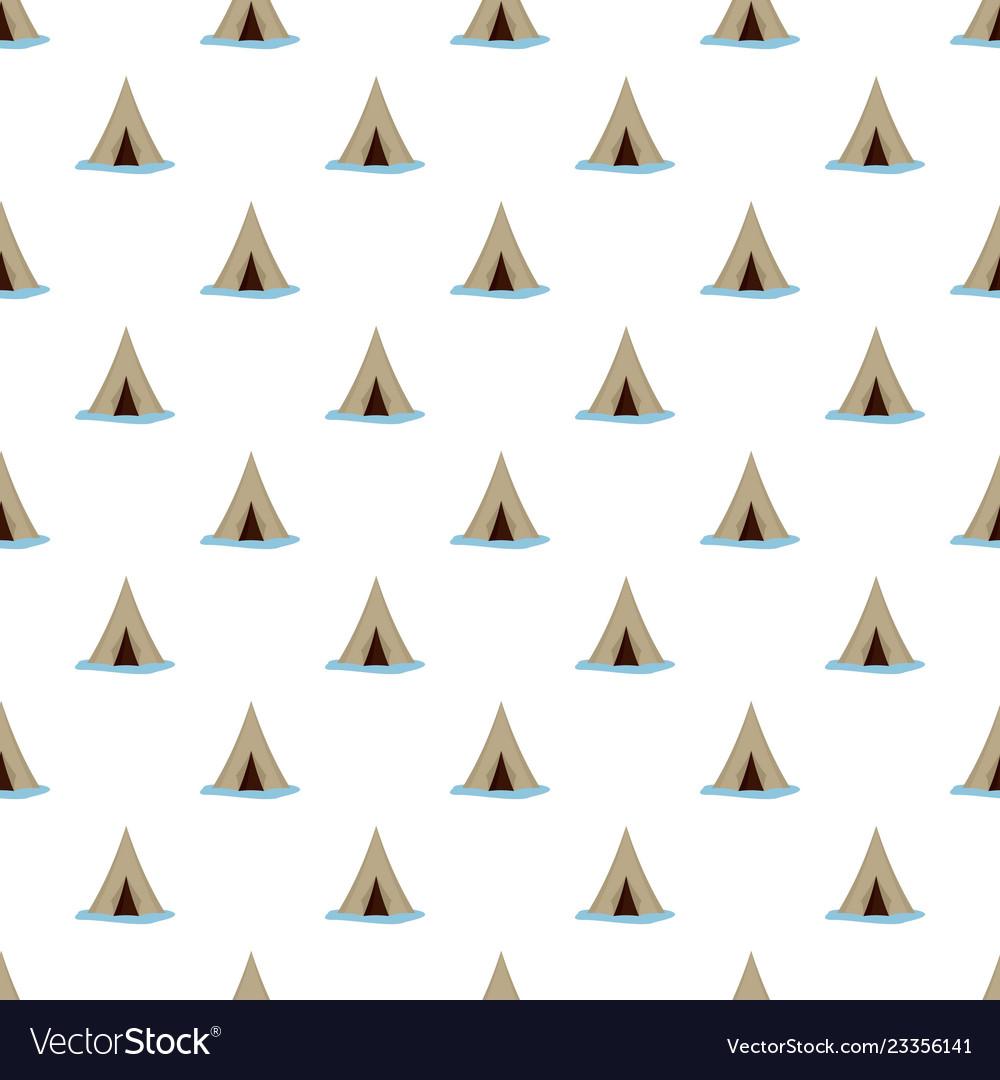 Alaska tent pattern seamless