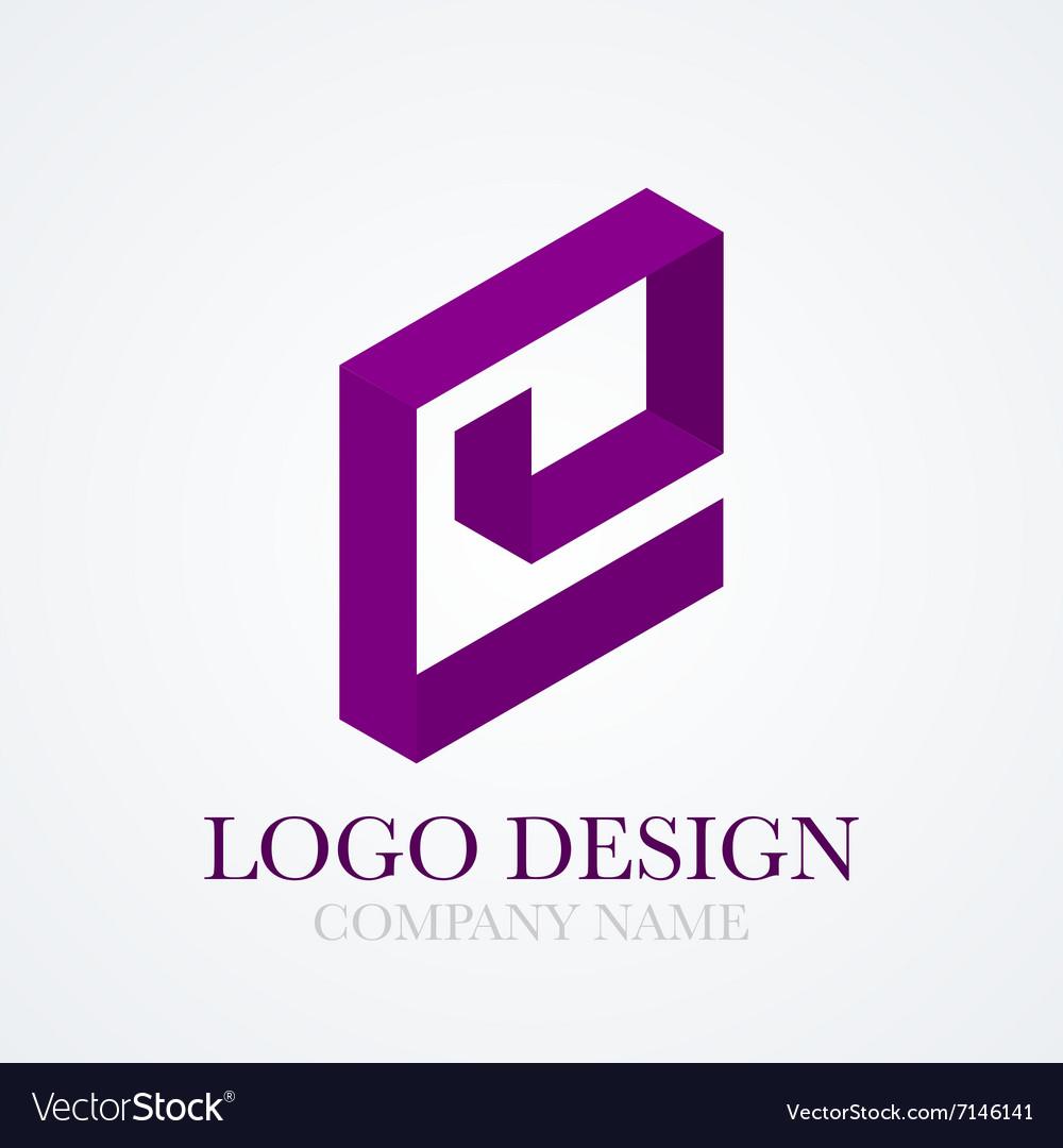 Logo letter e