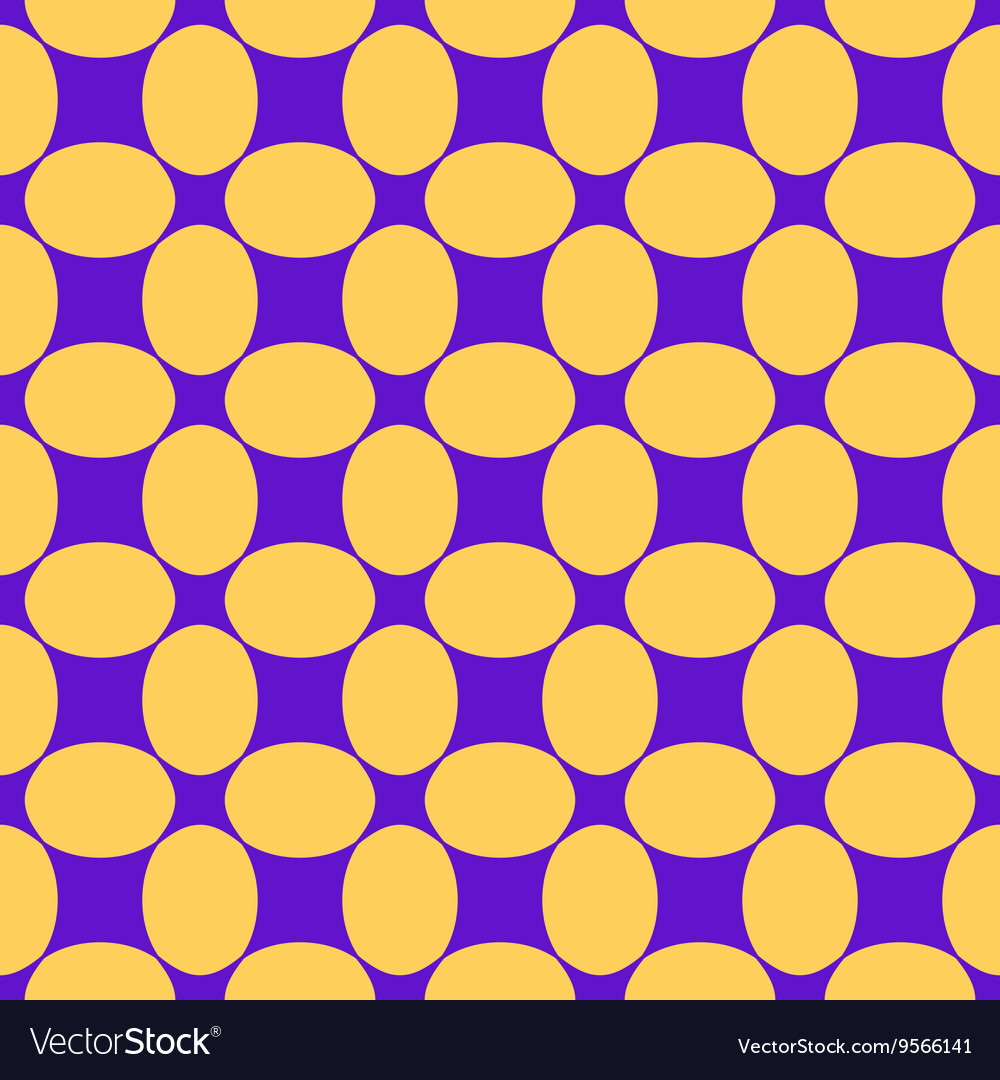 Oval and rhombus seamless pattern