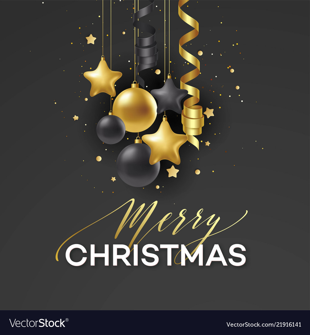 Poster merry christmas holiday premium