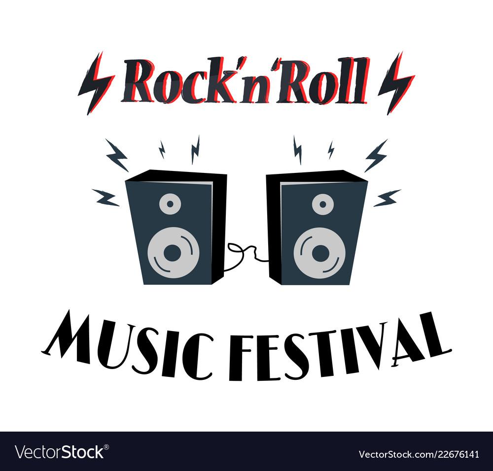 Rock-n-roll music festival