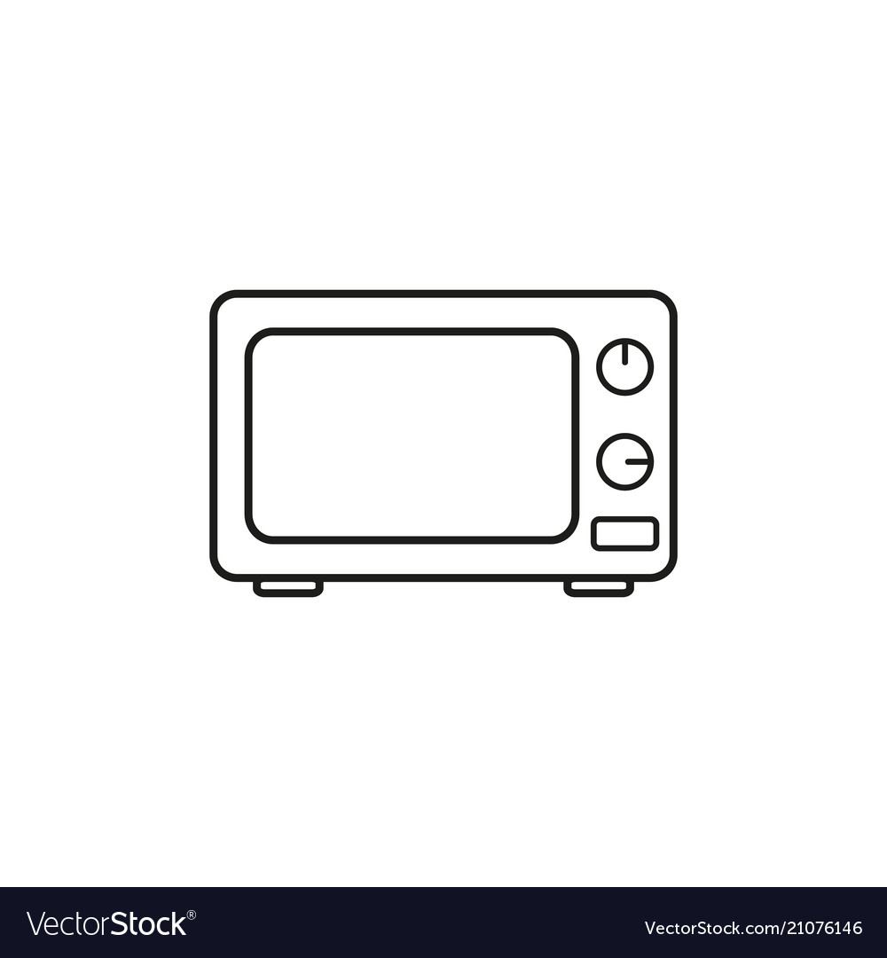 A microwave icon