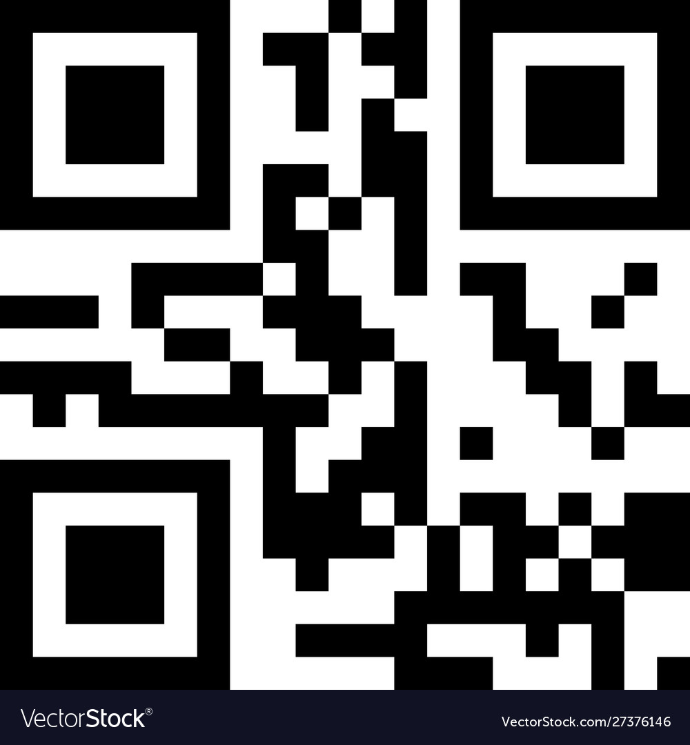 Classic qr code sample for smartphone scanning