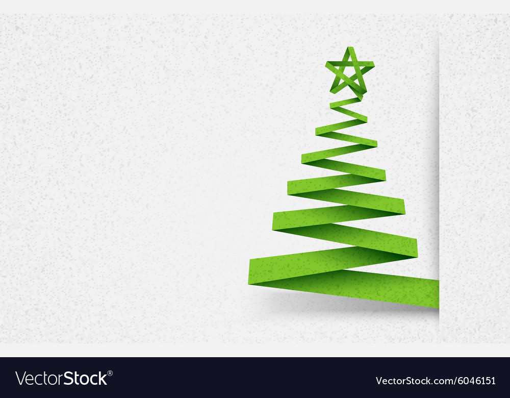 Paper tree green