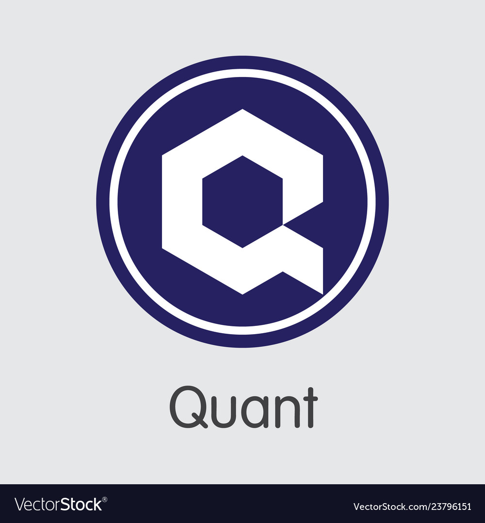 Qnt - quant the icon of crypto currency or market