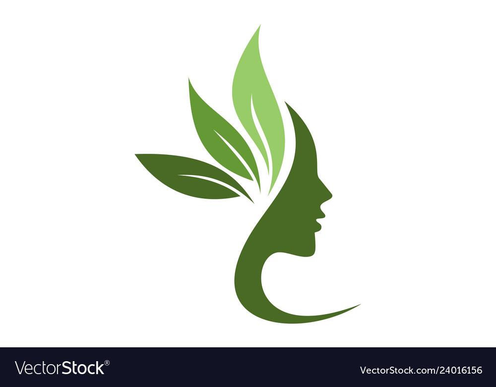 Beauty Spa Logo Concept Icon Royalty Free Vector Image