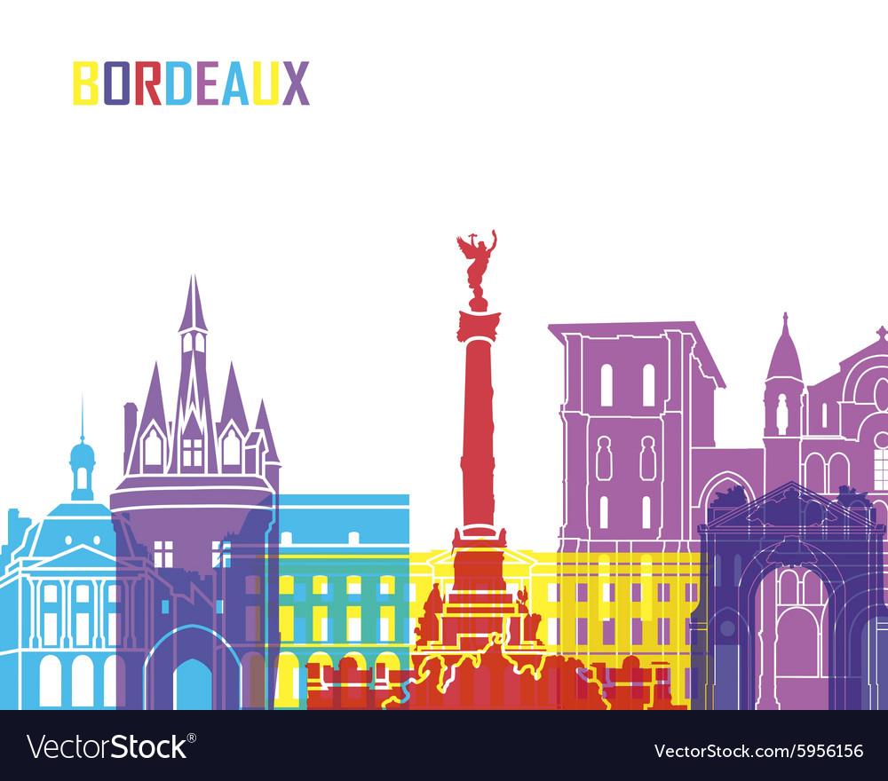 Bordeaux skyline pop