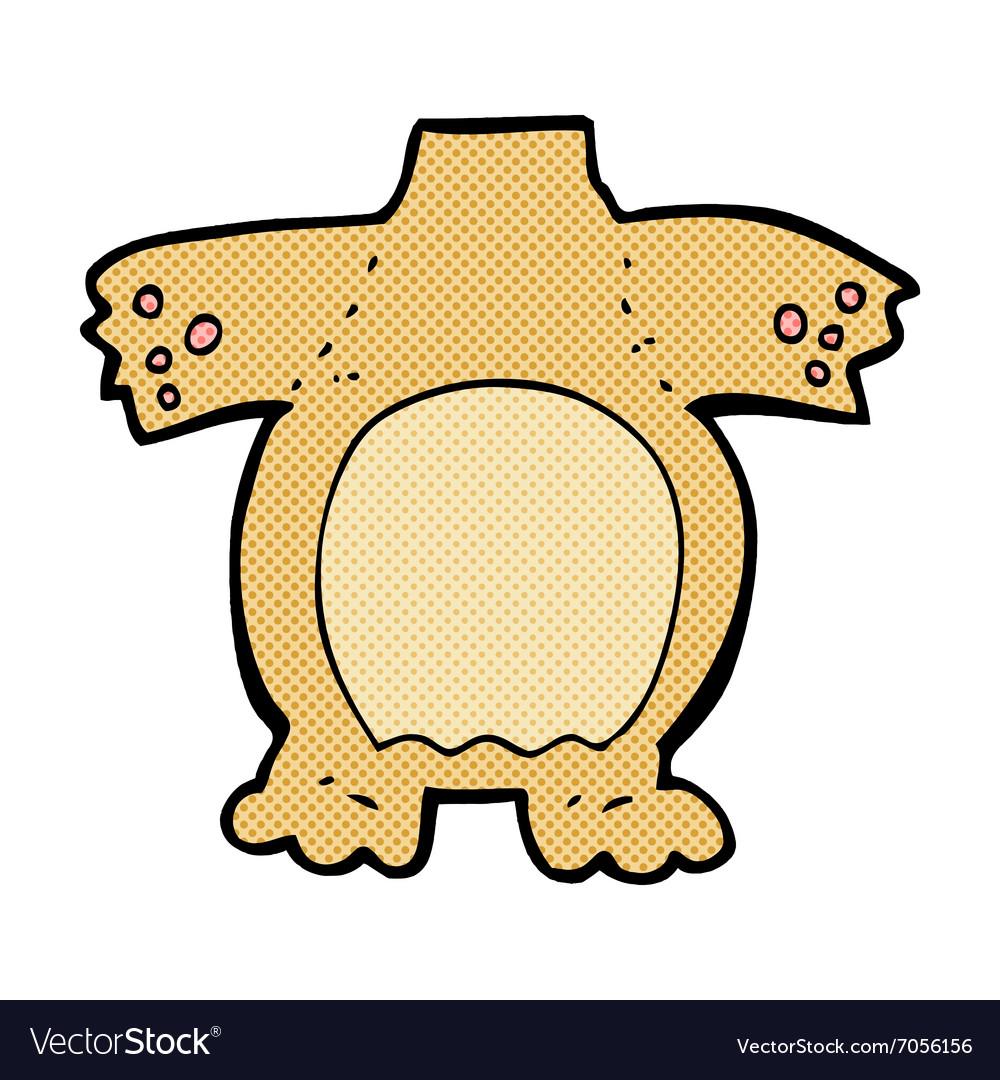 Comic cartoon teddy bear body mix and match comic