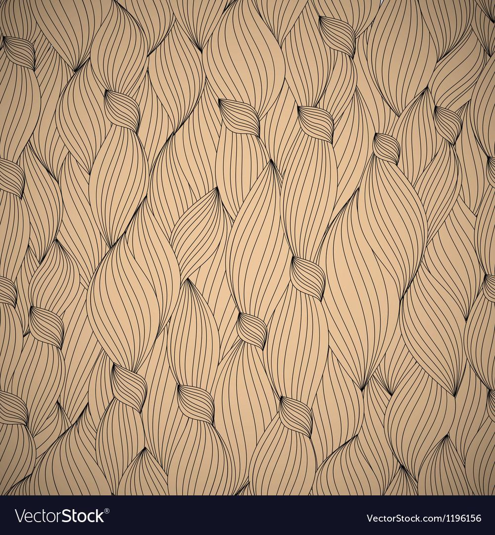 Hand-drawn pattern waves background