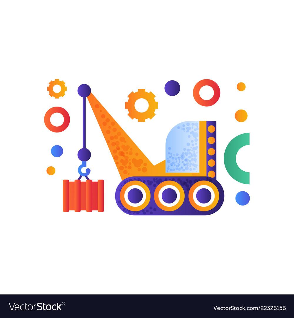 Hydraulic crawler crane cargo transportation