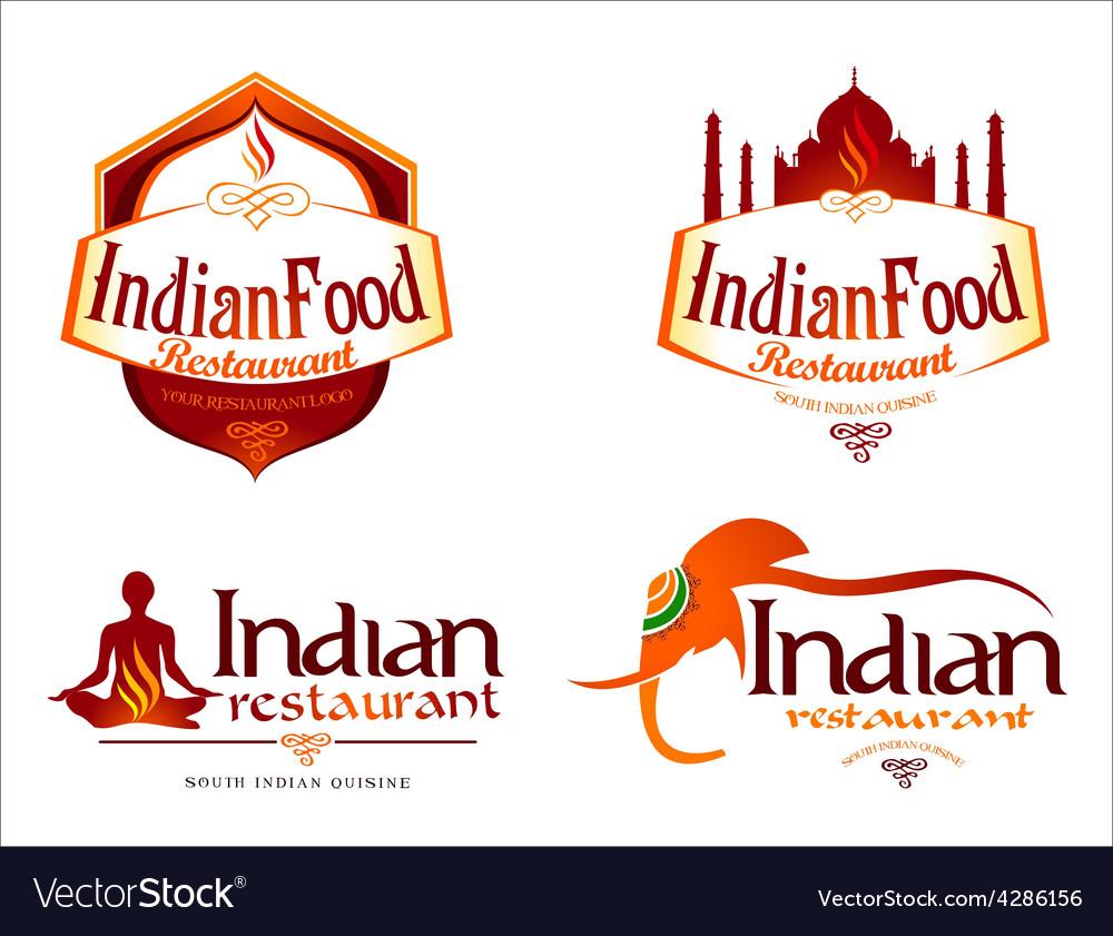 Indian Food Logo Creative
