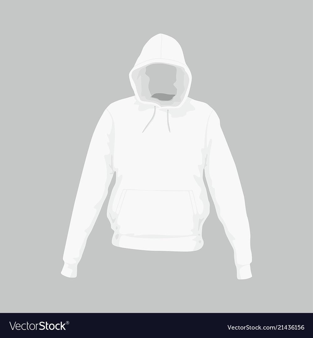 d6406eb0e Mens white hooded sweatshirt