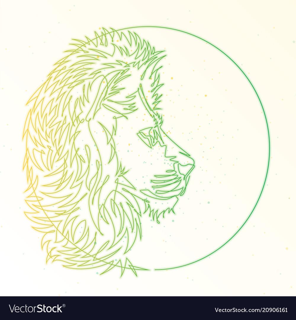 Lion line symbol
