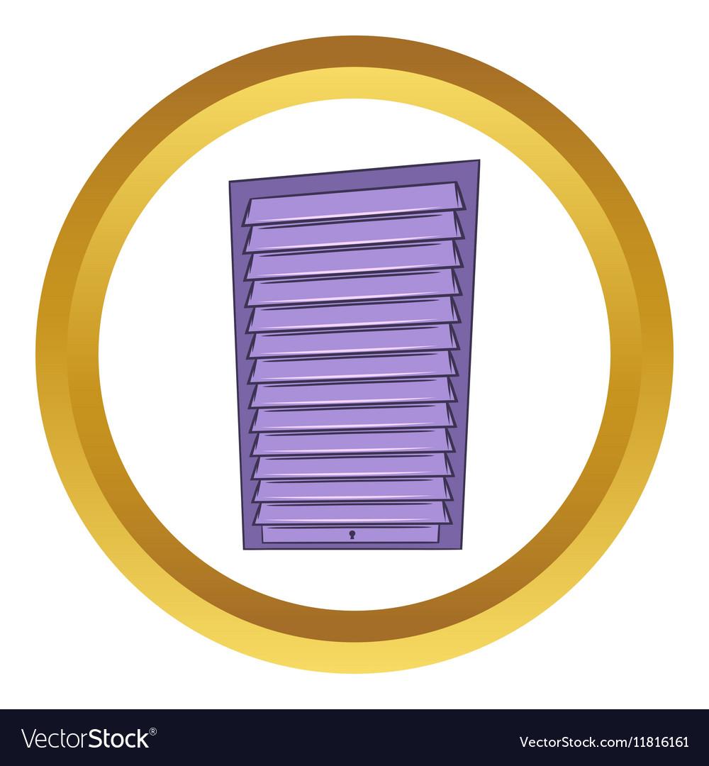 Shutter Door Or Roller Door Icon