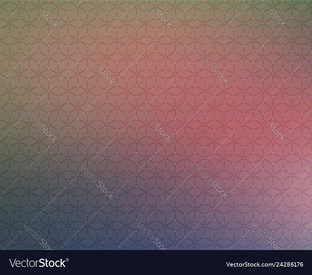Abstract background honeycomb blur color stars