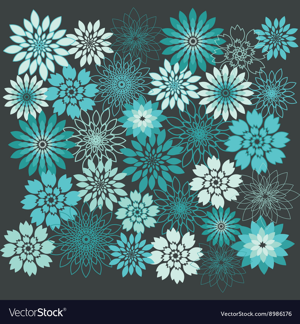 Flower Background Floral Seamless Background