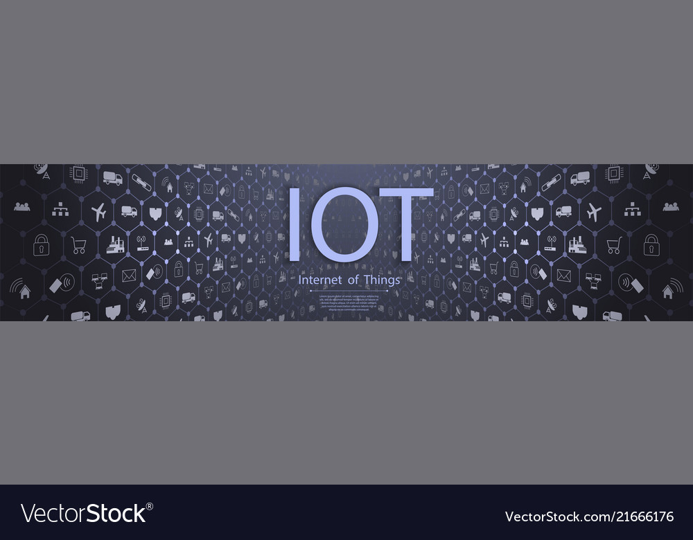 Internet of things iot and networking concept