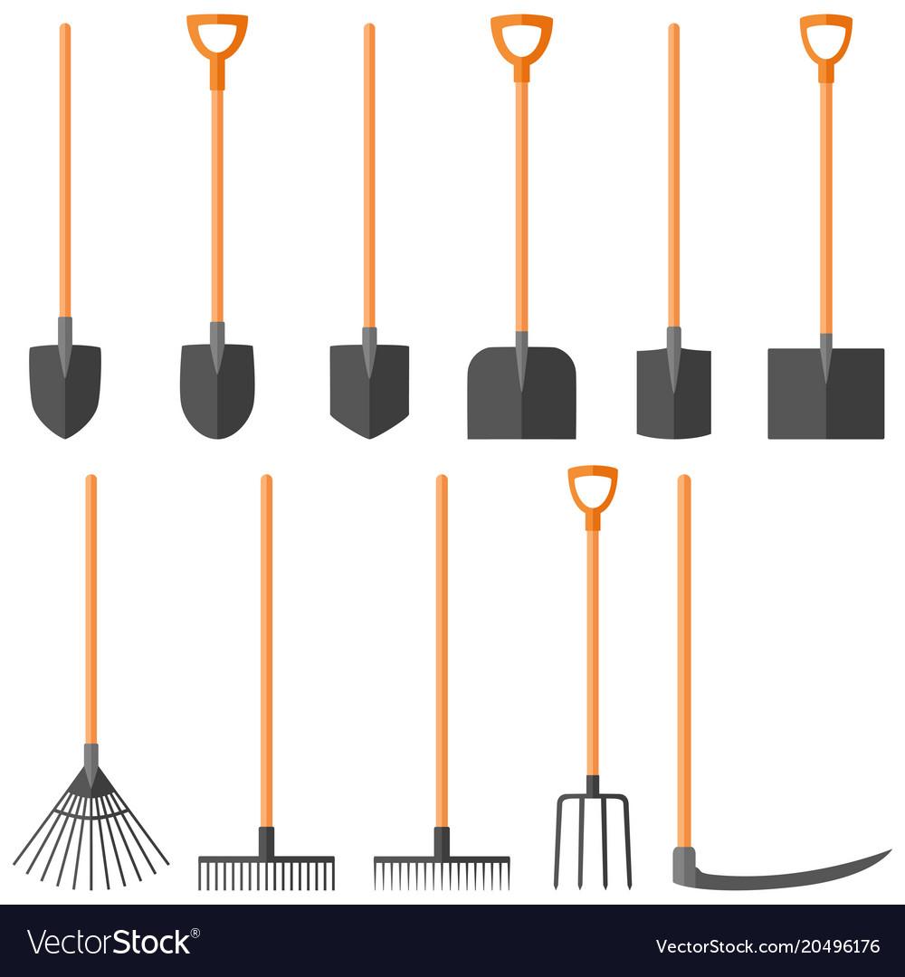 Set of garden tools